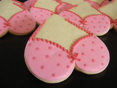 breast cancer awareness cookies - Google Search
