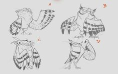 Owl  ★ || CHARACTER DESIGN REFERENCES (https://www.facebook.com/CharacterDesignReferences & https://www.pinterest.com/characterdesigh) • Love Character Design? Join the #CDChallenge (link→ https://www.facebook.com/groups/CharacterDesignChallenge) Share your unique vision of a theme, promote your art in a community of over 40.000 artists! || ★