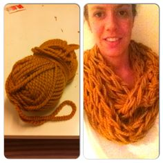 #arm knitting #30minutes