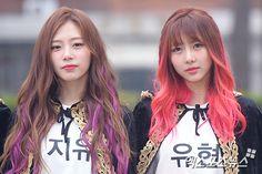 DREAMCATCHER - JiYoo 지유 (Kim MinJi 김민지) & Kim YooHyeon 김유현 170407 #드림캐쳐
