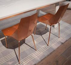 Oh copper chairs - I need thee.