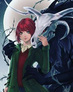 The ancient magus bride  #eliasainsworth  #chisehatori #koreyamazaki #ruth #mahoutsukainoyome