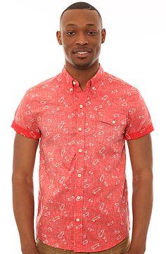 The Skateboard Short Sleeve Shirt by #Altru #PatternPrint