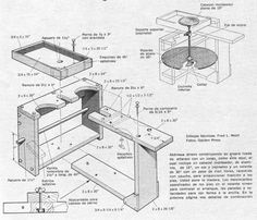 Clic en la imagen para ver más grande y claro -  Construya una MESA DE ALFARERO