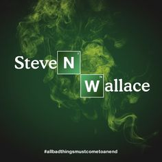 Look what I cooked up! Step into the Breaking Bad Name Lab and transform your name too. And don't miss the series finale Sunday at 9/8c!