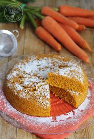 Cocinando entre Olivos: Bizcocho de zanahoria en microondas. Receta paso a paso.