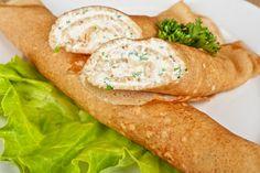3 variáció egészséges palacsintára Cheese Appetizers, Low Sugar, Spinach, Pancakes, Sandwiches, Lunch, Snacks, Meals, Chicken