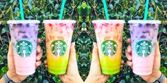 Holy Sh*t There's A Second 2-Toned Secret Starbucks Drink - Cosmopolitan.com