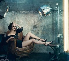 Keira Knightley photographed by Norman Jean Roy for the 'Girl, Interpreted' editorial in GQ magazine UK, March Keira Knightley, Keira Christina Knightley, British Actresses, Actors & Actresses, Shooting Studio, Norman Jean Roy, Monica Belluci, Portrait Photography, Fashion Photography