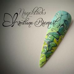 #Nails #Nailart #Naildesign #Mustertip #Aquarell #Schmetterling #Butterfly