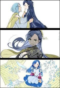 Anime Couples Manga, Anime Manga, Ferdinand, Cute Anime Character, Light Novel, Manga Comics, Blue Butterfly, Anime Art Girl, Webtoon