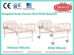 Desco India is a leading manufacturer of manual hospital beds, electric hospital bed. Beds are suitable for any treatment and make the stay of patients very comfortable in the hospital. We provide different kinds of beds for different treatments.