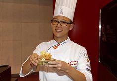 Teo Jun Xiang ganador del Concurso Internacional de Tapas para Escuelas de Cocina 2015