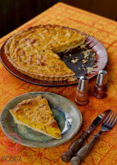 Tarta z dynią i grzybami leśnymi Ethnic Recipes, Blog, Blogging