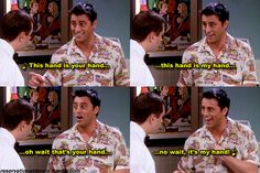 Can't handle Joey