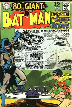 Batman #203, August 1968, cover by Neal Adams.