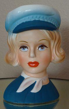 Vintage Lady Head