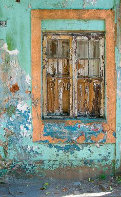 window, Porto Alegre, Brazil