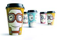 TheBestPackaging.ru – Gawatt Emotions - стакан кофе от Backbone Branding
