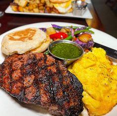 Extreme Food, Steak And Eggs, Meat, Drinks, School, Breakfast, Food, Drinking, Morning Coffee
