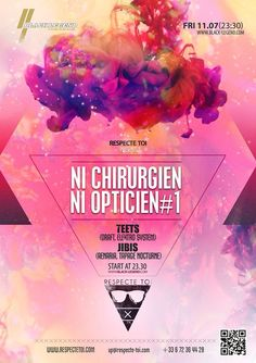 Ni Chirurgien Ni Opticien #1 Black Legend ( Monaco ) 11/07/14