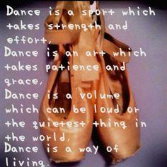 Dansen is geweldig!