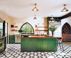 Graphic Flooring Photos | Architectural Digest