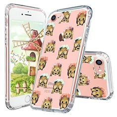 iPhone 7 Case, MOSNOVO Cute Monkey Emoji Apple iPhone 7 C...