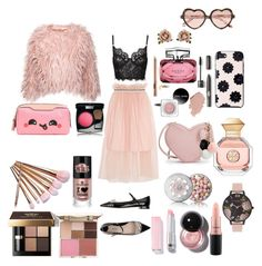 """""""what a girl needs"""" by melissavillalobos214 on Polyvore featuring Cutler and Gross, Mother of Pearl, Tory Burch, Miu Miu, Kate Spade, Olivia Burton, GUESS, Les Néréides, Guerlain and MAC Cosmetics"""