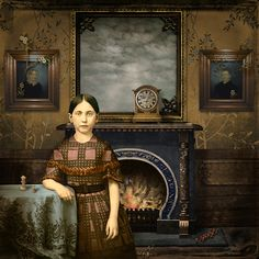 Maggie Taylor - Looking Glass Room