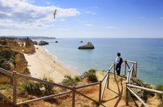 Mirador a la Praia da Rocha, en el Algarve