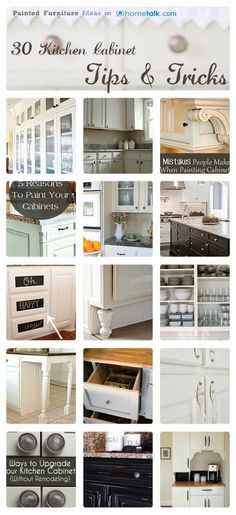 Kitchen Cabinet Tips & Tricks :: Carrie @  {P.F.I.}'s clipboard on Hometalk