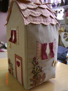 casitas de tela -