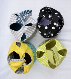 Cloverleaf Bag Tutorial at Sew Mama Sew - ikat bag Sewing Tutorials, Sewing Crafts, Sewing Projects, Sewing Patterns, Doll Patterns, Japanese Knot Bag, Japanese Sewing, Sew Mama Sew, Diy Sac