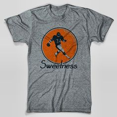 Walter Payton Vintage Chicago Bears T-Shirt Heather Gray