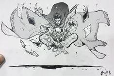 Doctor Strange by Daniel Warren Comic Book Artists, Comic Artist, Comic Books, Drawing Reference Poses, Art Reference, Cultura Nerd, Comic Kunst, Marvel Comics Art, Dr Strange