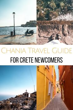 Heading to Crete for the first time? In my Chania Travel Guide I share the best places to see, where to eat & cool day trips from Chania. I share my favorite beach in Crete, the best restaurants in Chania Old Town and what you should see when traveling to Crete. Chania Crete Greece | Chania Crete, Greece travel guide | Chania beaches in Crete | Chania Greece | Chania Crete Greece Old Town | What to see in Chania | Chania Sightseeing | Chania Restaurants | Where to eat in Crete | Cretan Foo Crete Heraklion, Chania Greece, Beautiful Places To Visit, Places To See, Crete Beaches, Greece Honeymoon, Greece Hotels, Crete Island, Travel Guide