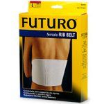 FUTURO Adjustable Women's Rib Belt, Large - 1 ea by Futuro. $8.50. * designed to provide firm support,comfort and fit. * designed to reduce pain from sudden expansion of chest and rib cage. * allows controlled lung expansion for proper healing , with soft cotton knit lining and foam padding. * comfortably fits a woman's figure. * FOR BRUISED OR INJURED RIBS..LARGE SIZE (30-35 INCHES). LARGE FEMALE RIB BELT. Save 39%!