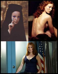 FUN FACT - The girl who played Alia in the David Lynch movie version of Dune was actress Alica Witt. She has starred in various TV shows and movies over the years. Now she is currently starring on Season 5 of Justified and dating musician Ben Folds. Sci Fi Tv, Sci Fi Movies, Dune Quotes, Dune Film, David Lynch Movies, Alicia Witt, Dune Frank Herbert, Dune Art, Star Trek Characters