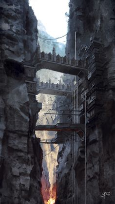 Imaginative Fantasy Art by Bram Sels - Digital paintings, Fantasy, Scenery/LandscapesCoolvibe – Digital Art