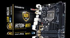 GIGABYTE - Motherboard - Socket 1151 - GA-H170N-WIFI (rev. 1.0)