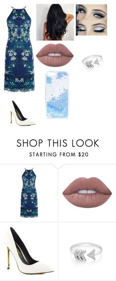 """""""Untitled #316"""" by nerdgirl14-boss on Polyvore featuring Karen Millen, Lime Crime, TaylorSays, EF Collection and Skinnydip"""
