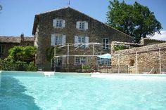 """Location Maison de Maître """"Moulin de l' Aulière"""" Colonzelle - Rhône-Alpes - France - Grande demeure de charme près de Grignan avec piscine à Colonzelle dans la Drôme en Provence"""