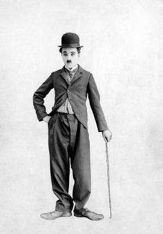 Photo: Poster of Charlie Chaplin : Classic Hollywood, Old Hollywood, Laurel Et Hardy, Charles Spencer Chaplin, Foto Poster, Poster Poster, Le Clown, Silent Film, Celebrity Photos
