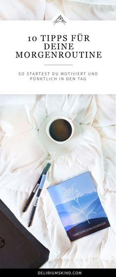 Warum sollte man überhaupt früh aufstehen? Ist es nicht viel besser, einfach liegen zu bleiben und den Tag erst gegen neun oder zehn zu beginnen? Natürlich ist es bequemer, das ist keine Frage. Good To Know, Feel Good, Self Organization, Miracle Morning, Mental Training, Work Life Balance, Motivation, Better Life, Self Improvement