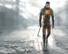 I hardly play any video games, but I've always enjoyed Half Life. I feel that I can relate to Gordon Freeman, saving the world despite being a scientist.