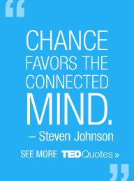 Ted Talks - new to me, but I think it will quickly become my new fav site