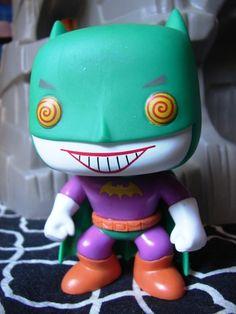 Toyriffic: Neener neener neener neener Bat-Joker! #Funko Bat Joker, Batman Stuff, Catwoman, Harley Quinn, Funko Pop, Minions, Geek Stuff, Comic Books, Cartoon