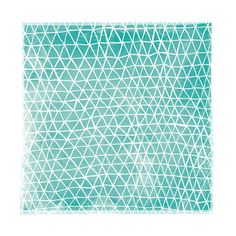 Abstract Triangles by Paper Dahlia for Minted