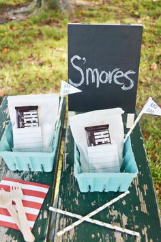 Yummy DIY S'mores Kits - Camping crafts your kids will love!